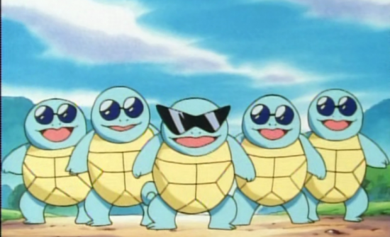 My one hope for the Detective Pikachu movie is that the Squirtle Squad appears as a local gang at some point