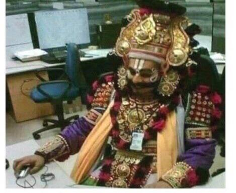 After 2 hours of arguing with tech support you face the final boss