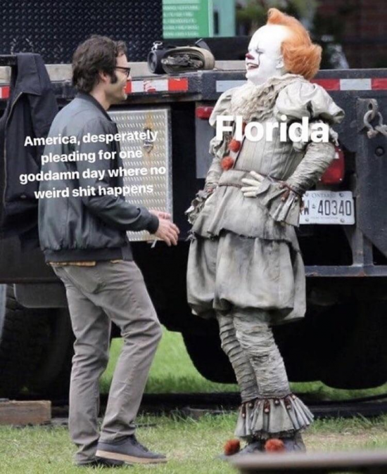 No news about Florida until I've had my coffee