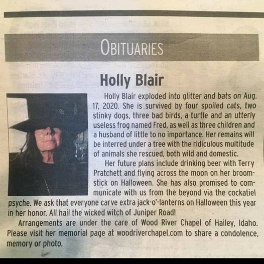 Best Obituary Ever