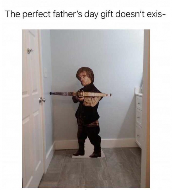 For the dad that has everything